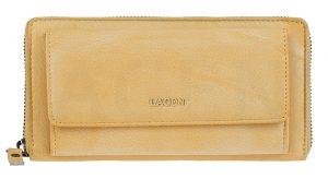 Lagen Dámská kožená peněženka 786-017 Yellow