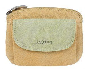 Lagen Dámská kožená peněženka 786-382 Yellow Green