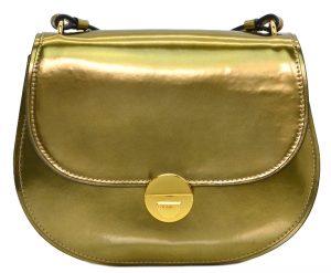 Coccinelle Luxusní kožená kabelka Violaine Mirror