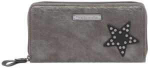 Tamaris Dámská peněženka Jem Big Zip Around Wallet 7130182-917 Pewter Comb