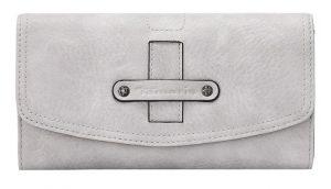 Tamaris Peněženka Bernadette Big Wallet With Flap 7122191-204 Light Grey