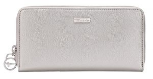 Tamaris Peněženka Maxima Big Zip Around Wallet 7131191-941 Silver