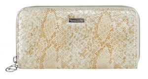 Tamaris Peněženka Mirela Big Zip Around Wallet 7186191-939 gold comb.
