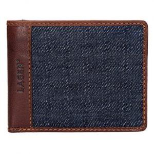 Lagen Pánská kožená peněženka 3960 Brown