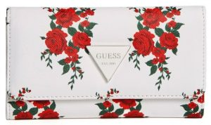 Guess Dámská peněženka Factory Women`s Abree Floral Slim Wallet