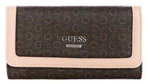 Guess Dámská peněženka Factory Women`s Elize Logo Slim Wallet