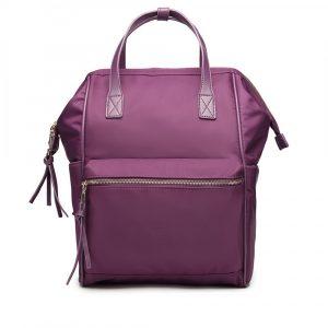 Fialová voděodolná školní taška 47111