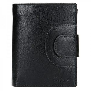Pánská kožená peněženka Diviley Henry – černá