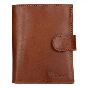 Pánská kožená peněženka Diviley Uran – hnědá