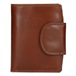 Pánská kožená peněženka Diviley Mars – hnědá