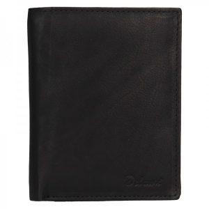 Pánská kožená peněženka Diviley Merkur – černá