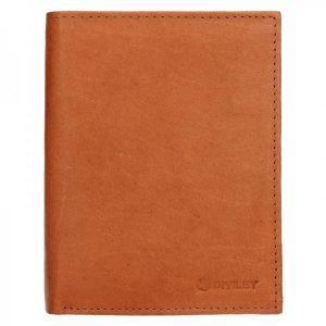 Pánská kožená peněženka Diviley Levin – světle hnědá