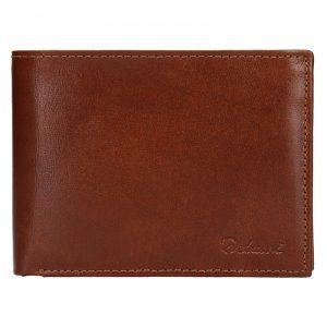 Pánská kožená peněženka Diviley Ross – koňak
