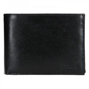 Pánská kožená peněženka Diviley Ross – černá