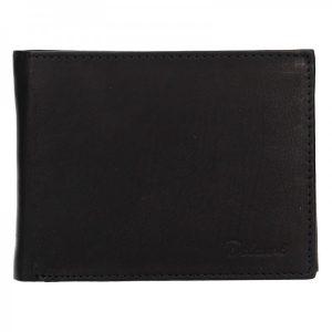 Pánská kožená peněženka Diviley Apolo – černá