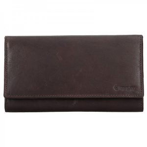 Dámská kožená peněženka Diviley Emma – hnědá