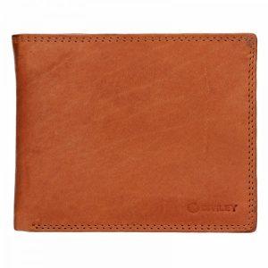 Pánská kožená peněženka Diviley Evžen – světle hnědá