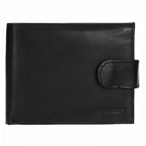 Pánská kožená peněženka Diviley Marek – černá