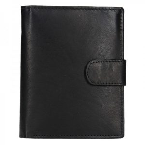 Pánská kožená peněženka Diviley Brock – černá