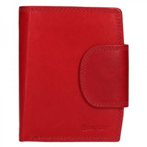 Pánská kožená peněženka Diviley Luiss – červená