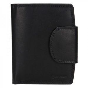 Pánská kožená peněženka Diviley Luiss – černá