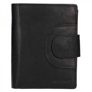 Pánská kožená peněženka Diviley Timmy – černá