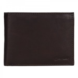 Pánská kožená peněženka Diviley Peter – hnědá