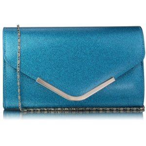 Dámské psaníčko LS Fashion Kaila – modrá