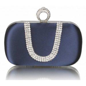 Dámské psaníčko LS Fashion Mina – modrá