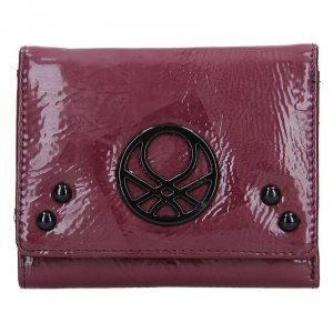 Dámská peněženka United Colors of Benetton Starlet – Vínová
