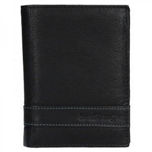 Pánská kožená peněženka SendiDesign Trevor – černá
