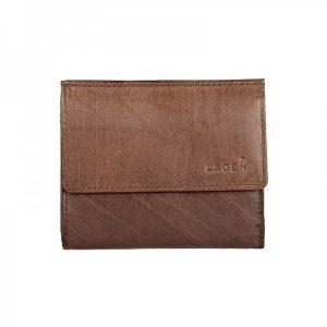 Pánská kožená slim peněženka Lagen Jonatan – hnědá