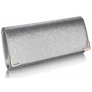 Dámské psaníčko LS Fashion Mollie – stříbrná