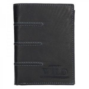 Pánská kožená peněženka Always Wild Marco – černá