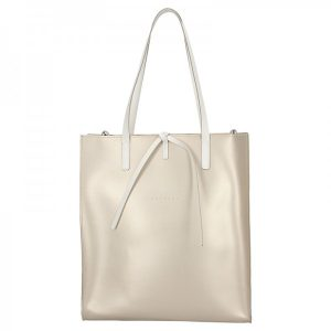 Dámská kožená kabelka Facebag Elmo – zlatá