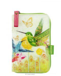 Santoro zelená peněženka Hummingbirds