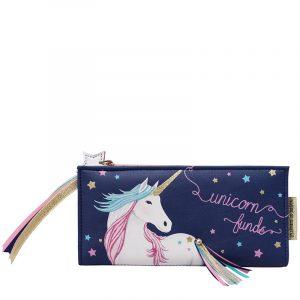 Disaster barevná peněženka Candy Pop Unicorn