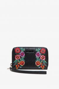 Desigual černá peněženka Mone Mex Mini Zip