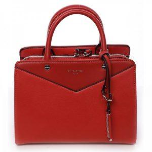 Dámská kabelka David Jones Karinna – červená