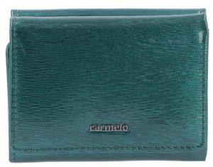 Carmelo Dámská kožená peněženka 2106G Zelená