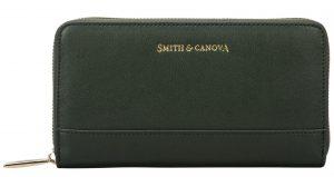 Smith & Canova Dámská peněženka26813_D.GREEN 14859460