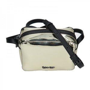 Dámská crossbody kabelka Calvin Klein Líza – zlatá
