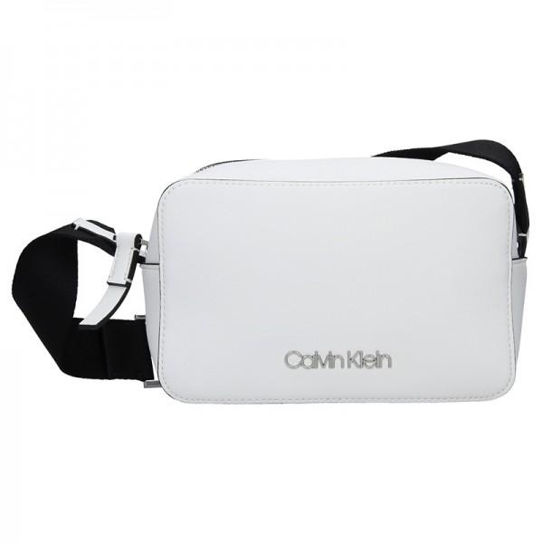 5f95ecaca8 Dámská crossbody kabelka Calvin Klein Líza – bílá