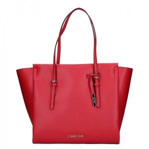 Dámská kabelka Calvin Klein Amanda – červená