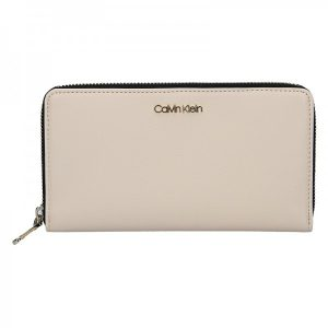 Dámská peněženka Calvin Klein Terra – krémová