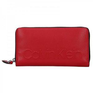 Dámská peněženka Calvin Klein Nicca – červená