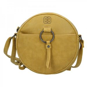 Dámská crossbody kabelka Enrico Benetti Nina – žlutá