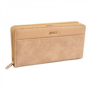 Dámská peněženka Doca 65317 – béžová