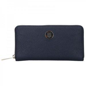 Dámská peněženka Tommy Hilfiger – tmavě modrá