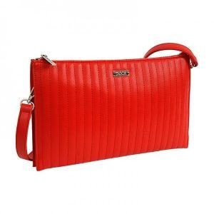 Dámská crossbody kabelka Doca 14834 – červená